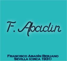 Franciso Abadin Berjano