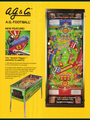 A.G. Football - Alvin G. and Company - 1992 - F1