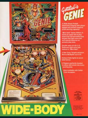 Gennie flyer